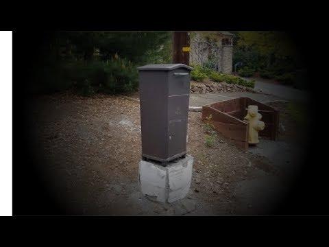 Installing a lockable mailbox