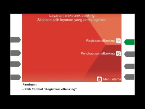 Cara Registrasi CIMB Clicks Melalui ATM CIMB Niaga