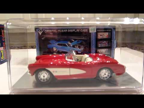 Scale model display cases - Revell Custom Case & Crystal Clear Display Case