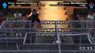 WWE: Here Comes the Pain (PS2) walkthrough - Elimination