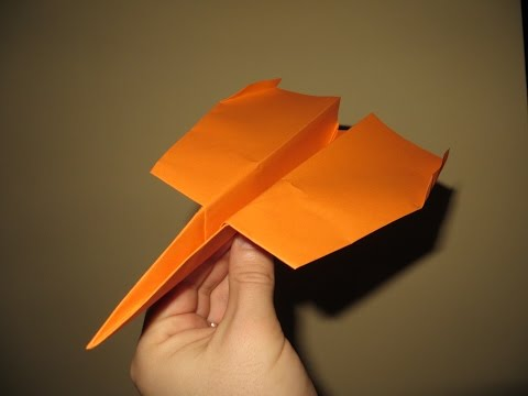 How to Make Cool Paper Airplanes that Fly Far and Straight - Very Easy - Video 7