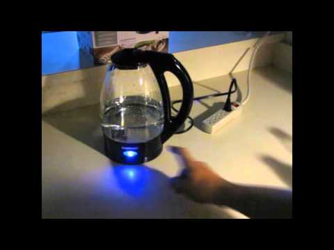 Farberware Electric Glass Kettle Unboxing Testing