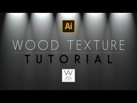 Illustrator CS6 Wood Texture Tutorial