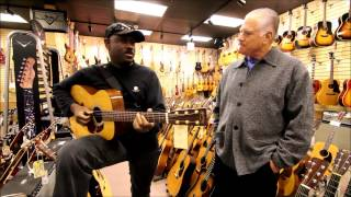 Carlyle Barriteau stops by Norman's Rare Guitars