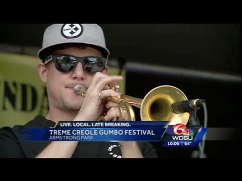 2016 Treme Creole Gumbo Festival - TV News Coverage Compilation
