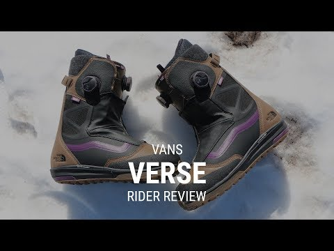 Vans Verse 2019 Snowboard Boot Review - Tactics.com