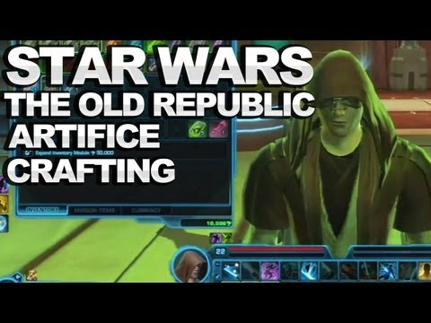 Star Wars: The Old Republic - Artifice Crafting Tutorial