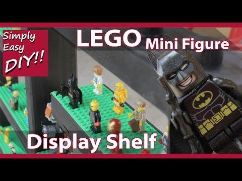 DIY Lego Mini Figure Display Shelf / Case