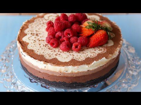 ট্রিপল চকলেট মুউজ কেক | Triple Chocolate Mousse Cake | Chocolate Mousse | Selina Rahman