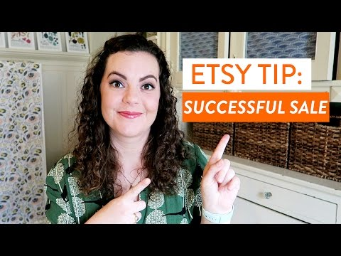 Etsy Tip: How to Run a SUCCESSFUL Sale   Make Money Selling Handmade Products
