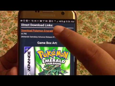 Play Any Gameboy Advance Game on Android (GBA Emulator)