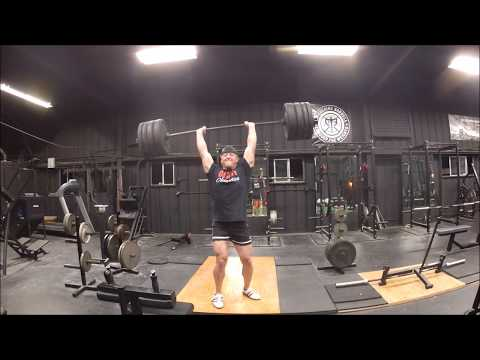 300lbs Clean and Jerk