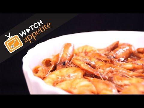 Ginataang Hipon (Shrimps in Coconut Milk)
