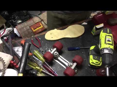 Home made rollerskates