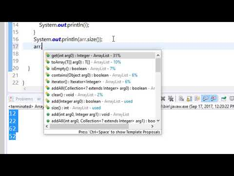 2. arraylist in java - java data structure