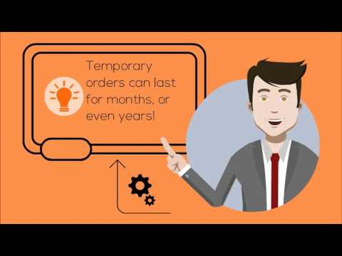 4 Keys to Success for Temporary Order Hearings