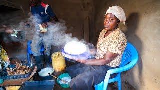 Village Food in East Africa - FREE-RANGE KFC (Kenya FRIED CHICKEN) Kenyan Food in Machakos!