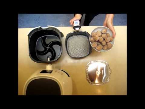 How to set up the variety cooking basket of the Philips Airfryer