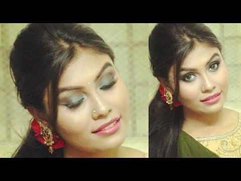 Gorgeous Green Eye Makeup Tutorial || Indian Wedding Inspired