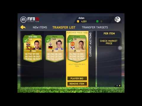 Fastest and Easiest Ways to Make Money on FIFA 15 - iOS