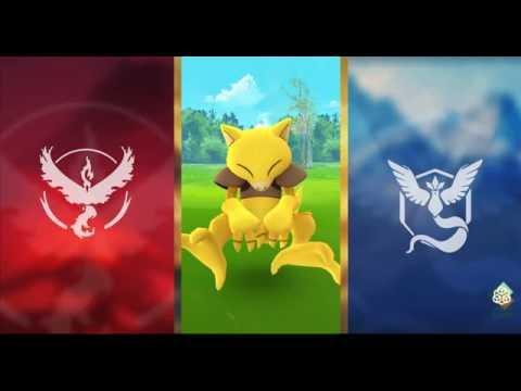 Pokemon GO #063 Abra CATCH!