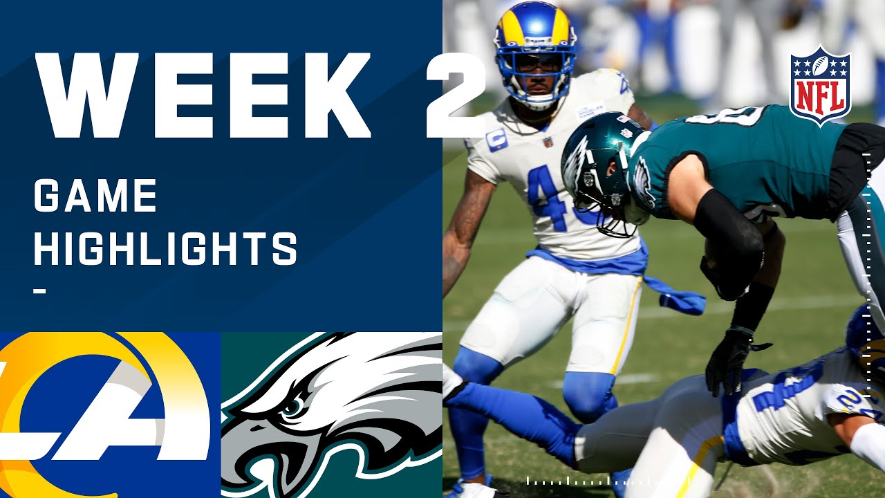 Rams vs. Eagles Week 2 Highlights | NFL 2020