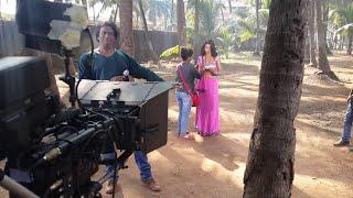 Khesari Lal &Akshara Singh=Making new bhojpuri movie
