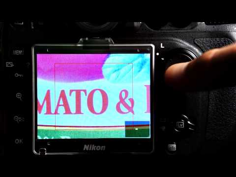 D7100 Manual Focus and Live View Magnification