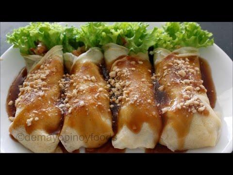The Best Lumpiang Sariwa/Fresh Lumpia | demayopinoyfoods