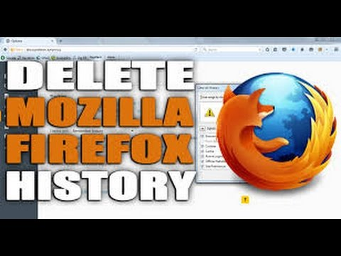 How to clear firefox recent history and  Cache, Cookies, Passwords, Personal Internet Data