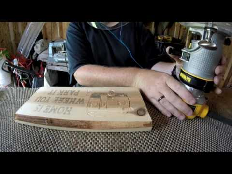 How To Carve A Wood Sign For Money