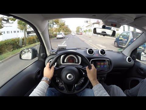 Smart ForTwo 1.0 (2016) - POV City Drive