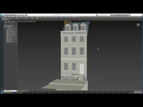 Intro To 3dsMax 10:doors and windows