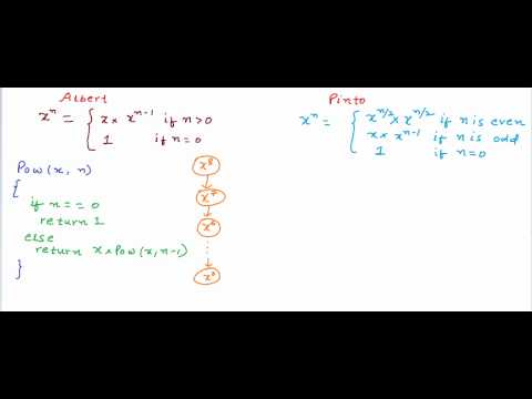 Exponentiation - Calculate Pow(x,n) using recursion
