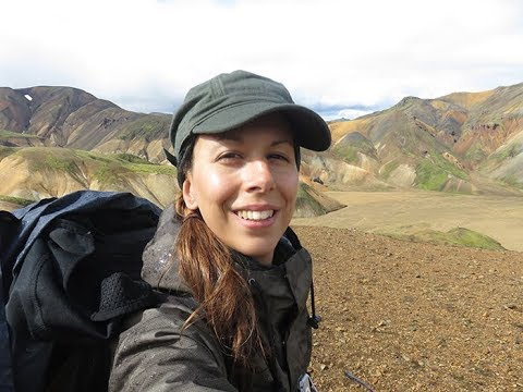 Iceland Laugavegur trek August 2017 solo hiking by Alisa