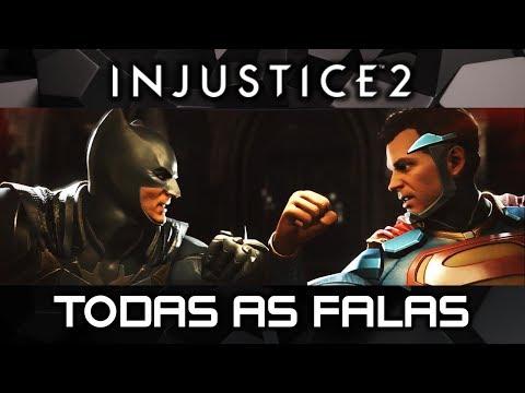 INJUSTICE 2: Todas As Falas Entre SUPERMAN & BATMAN