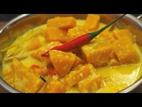Pumpkin & Coconut Milk Curry Recipe - Lemon Grass Star Aniseed Asian cooking