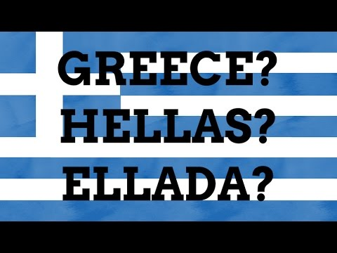 Why Is Hellas/Ellada Called Greece In English?