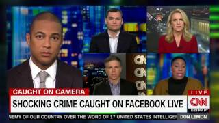 Democratic CNN Contributor Unsure if Chicago Attack on Trump Supporter is a Hate Crime