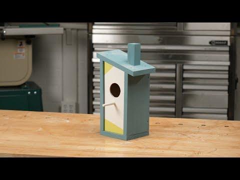 Saturday Morning Workshop: Modern Birdhouse
