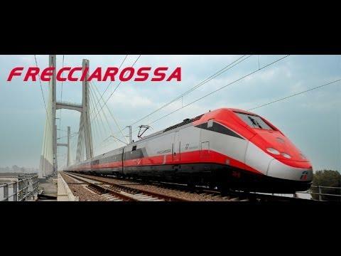 Rome to Naples on the Frecciarossa highspeed train