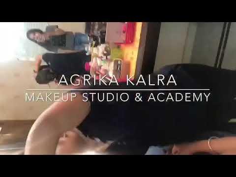 Professional Makeup classes at Agrika Kalra's Makeup Academy
