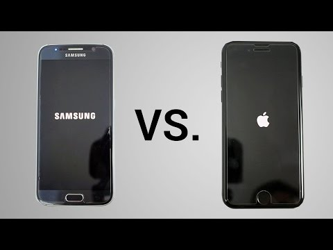 iPhone 7 vs. Galaxy S6 - Ultimate Speed Test