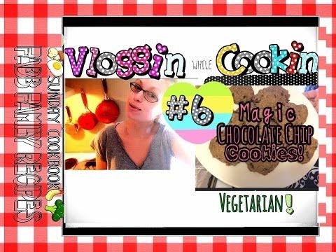Magic Chocolate Chip Cookies! •Vegetarian Recipe•