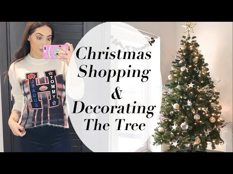 Christmas Shopping, What I Wore & Decorating My Christmas Tree