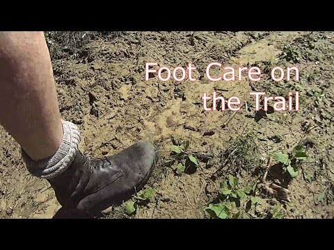 Foot Care on the Trail
