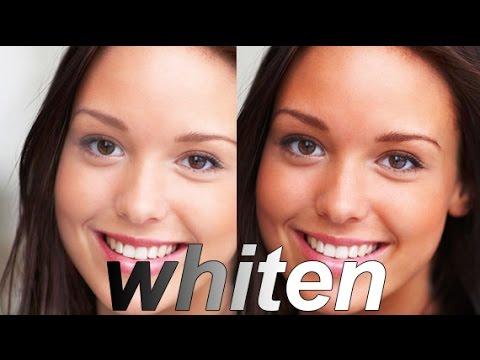 Simple whiten skin trick in Photoshop