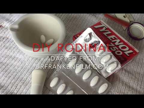 DIY Rodinal - video 1