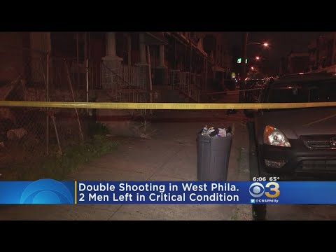 Police Investigating Double Shooting In West Philadelphia