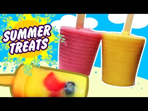 Summer Treats : Healthy Homemade Popsicles by Hooplakidz Recipes